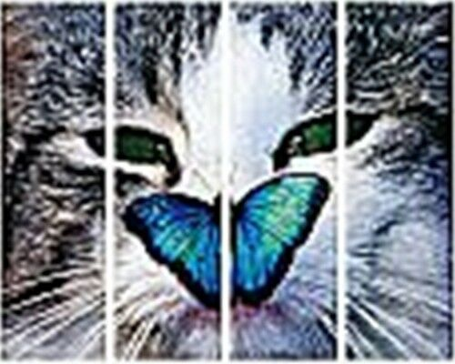 Ordneretiketten Rückenschilder Set für breite Ordner Mops oder Katze Etiketten