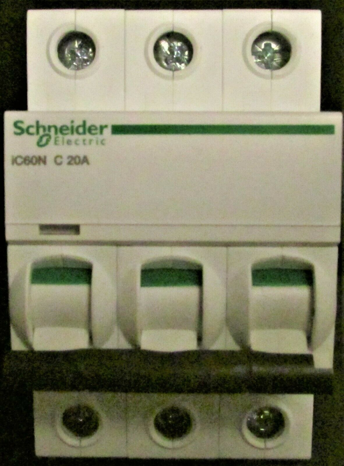 Schnieder IC60H C 50A Triple Pole Circuit Breaker