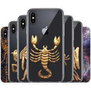 Dessana-Signe-Du-Zodiaque-Astrologie-Etui-de-Protection-en-Silicone