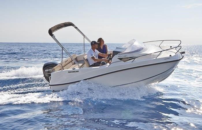 Quicksilver, Kabinebåd, fod 6