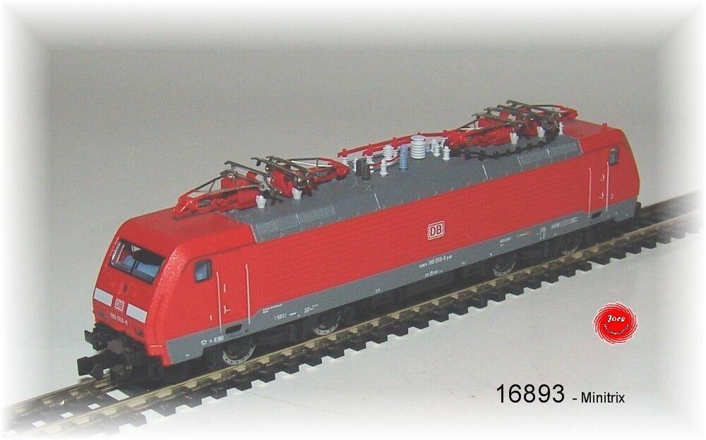 Trix 16893 16893 16893 E-Lok BR 189 delle DB AG abbaglianti con decodificatore digitale  neu in OVP   d36704