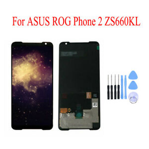 Original LCD Display + Touch Screen Digitizer + KIT For ASUS ROG Phone 2 ZS660KL