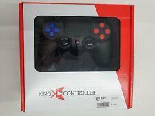 Artikelbild King Controller PS4 schwarz 3 Steuerkreuz blau, Aktionstasten Rot