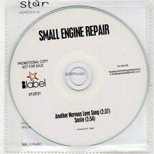 (EH885) Small Engine Repair, Another Nervous Love Song - 2011 DJ CD