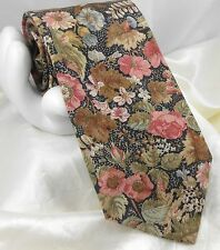 """Rugby Club by ROOSTER Men's Cotton Blend Tie Garden Floral 3.75""""x 58"""" Pastel"""