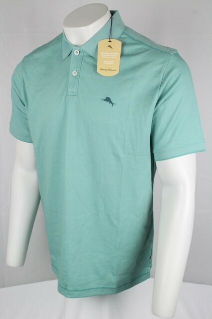Tommy Bahama Men's Short Sleeve Polo Size Large Frosted Jade TB220248M