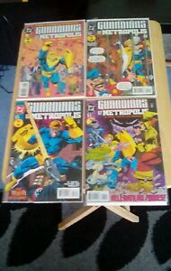 GUARDIANS-OF-METROPOLIS-4-ISSUE-MINI-SERIES-FROM-1994-95-IN-NEAR-MINT-CONDITION
