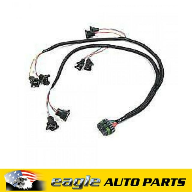 Holley V8 Over Manifold Bosch Style Injector Wiring Harness #HO558-200