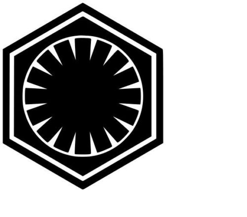 First Order Vinyl Decal Sticker Car Window Art Bumper Starwars Star Wars Design