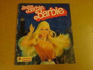 PANINI-ALBUM-BARBIE