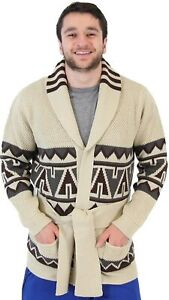 Adult-Men-039-s-Starsky-and-Hutch-Paul-Michael-Glaser-Costume-Cardigan-Sweater