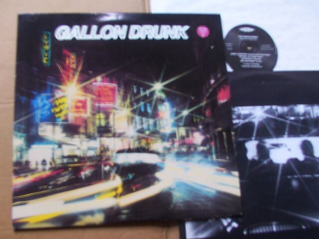 GALLON DRUNK,FROM THE HEART OF TOWN lp+ep vg+/m-/vg+ OIS /m- clawfist HUNKA 5G