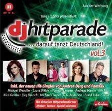 DJ ÖTZI/ANDREA BERG/JÜRGEN PETER/SIMONE/+ - DJ HITPARADE VOL.3  CD POP NEU