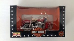 Maisto-Harley-Davidson-Duo-Glide-1-18-HD-modelo-1962-FLH-OVP