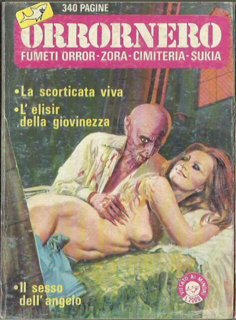 ORRORNERO n° 2 (Edifumetto, 1984) Fumetti Orror - Zora - Cimiteria - Sukia