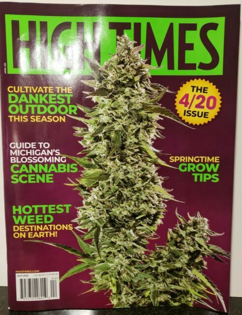 High Times- April 2020 The 4/20 Issue