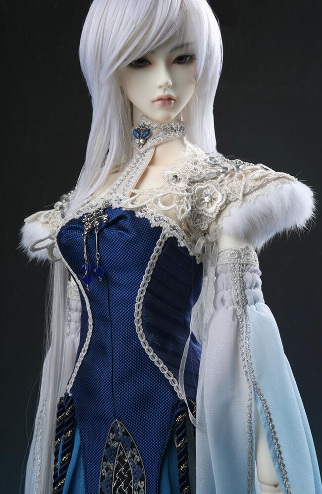 BJD de Resina Moda Niña clozel humana versión libre ojos libre y arte muñecas