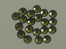 20ss KHAKI HOT FIX swarovski rhinestones 72pcs