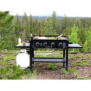 Image Is Loading Bbq Gas Griddle Propane Barbecue Grill Outdoor Barbeque