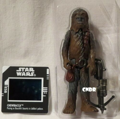 Star Wars Power of the Force LOOSE Figure CHEWBACCA Boushh/'s Bounty FREEZE FRAME