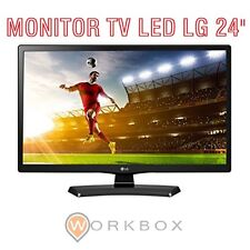 "MONITOR TV LG 24 "" POLLICI LED HDMI Pulgadas HD 24MT48D ITALIA USB (NO-VGA/DVI)"