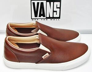 Image is loading Classic-Slip-On-Lux-Leather-Shaved-Chocolate-Porcini- e770c297f