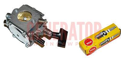 Carburetor Carb NGK Spark Plug For STIHL BR320 SR320 BR400 BR420 Leaf Blowers