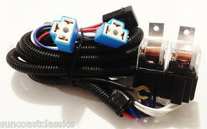 h4 headlight relay wiring harness 2 head lamp systems fix. Black Bedroom Furniture Sets. Home Design Ideas
