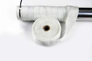 10M WHITE CERAMIC FIBER HEAT WRAP EXHAUST MANIFOLD