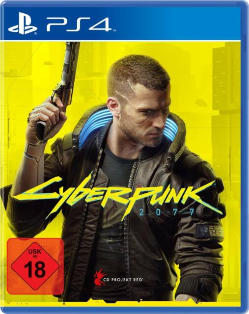 Cyberpunk 2077 Day 1 Edition - PS4 - Disk - DE (+ PS5 Upgrade + Vorbest.-Bonus)