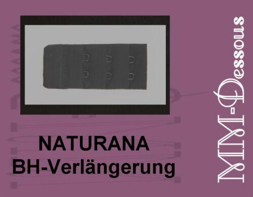 3 x NATURANA soutien-gorge-extension 3 CM NOIR 9910