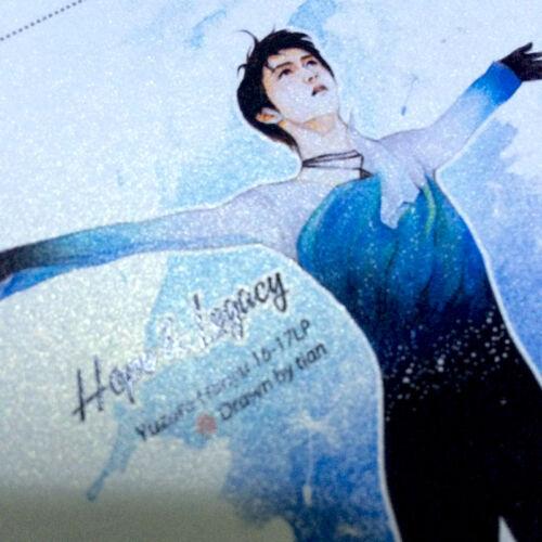 Yuzuru Hanyu Pyeongchang Olympic Memorial Skating Picture Paper Photo Postcard B