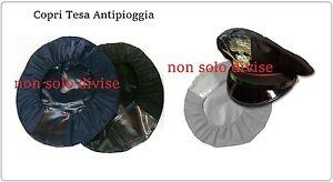 Copri Berretto Antipioggia Con Finestrella Nero Blu  Polizia Carabinie