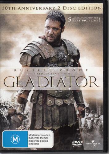1 of 1 - Gladiator / 10th Anniversary 2 Disc Edition (2010) - DVD PAL REGION 2, 4, 5