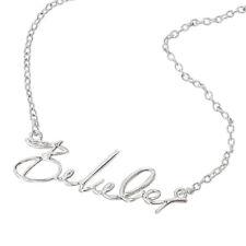 Justin Bieber Belieber Script Necklace