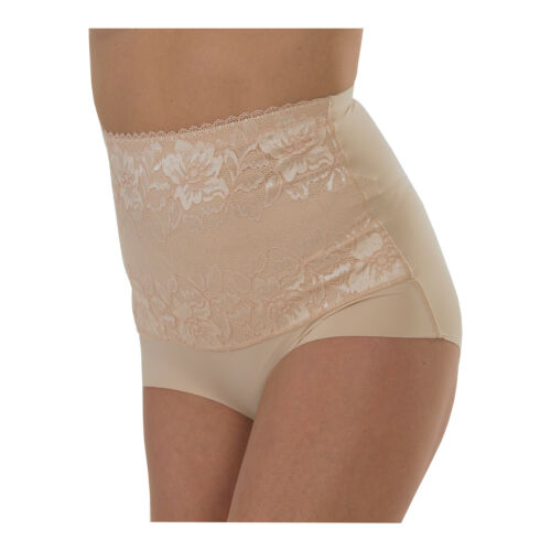 2 Pairs Ladies Light Control Full Briefs with Lace Front Panel /& No VPL