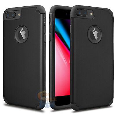 Hybrid Shockproof Slim Rubber Hard Case Cover Skin for Apple iPhone 8 Plus + / 8