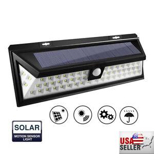 90-LED-Solar-PIR-Motion-Sensor-Wall-Light-Outdoor-Waterproof-Garden-Lamp