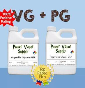 Vegetable Glycerin VG Propylene Glycol PG Combo USP E liquid Power Vapor Supply
