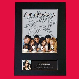 FRIENDS-CAST-SIGNED-POSTER-TV-SHOW-SERIES-SEASON-PRINT-PHOTO-AUTOGRAPH-GIFT-819