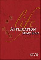 Life Application Study Bible - Niv (personal Size, Hardcover)