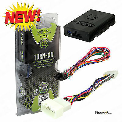 TYTO-01 Aftermarket Car Stereo Radio Replacement JBL Amp Turn-On Interface