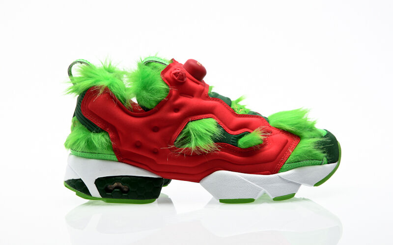 REEBOK INSTAPUMP FURIA CV Grinch Green bd4758 Uomo Sneaker uomo