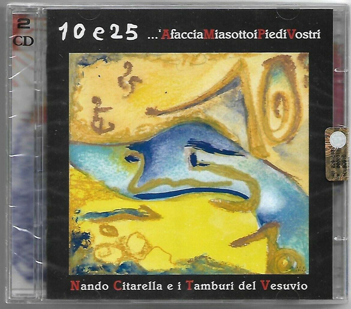 Immagine 1 - 2CD NANDO CITARELLA & TAMBURI DEL VESUVIO Afacciamia (Il Manifesto 2004) SEALED!