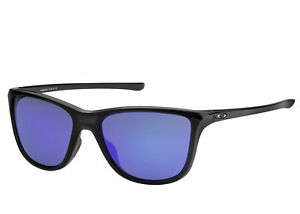 722758b5f5577 Image is loading Oakley-Reverie-Sunglasses-Polished-Black-Grey-OO9362-01-