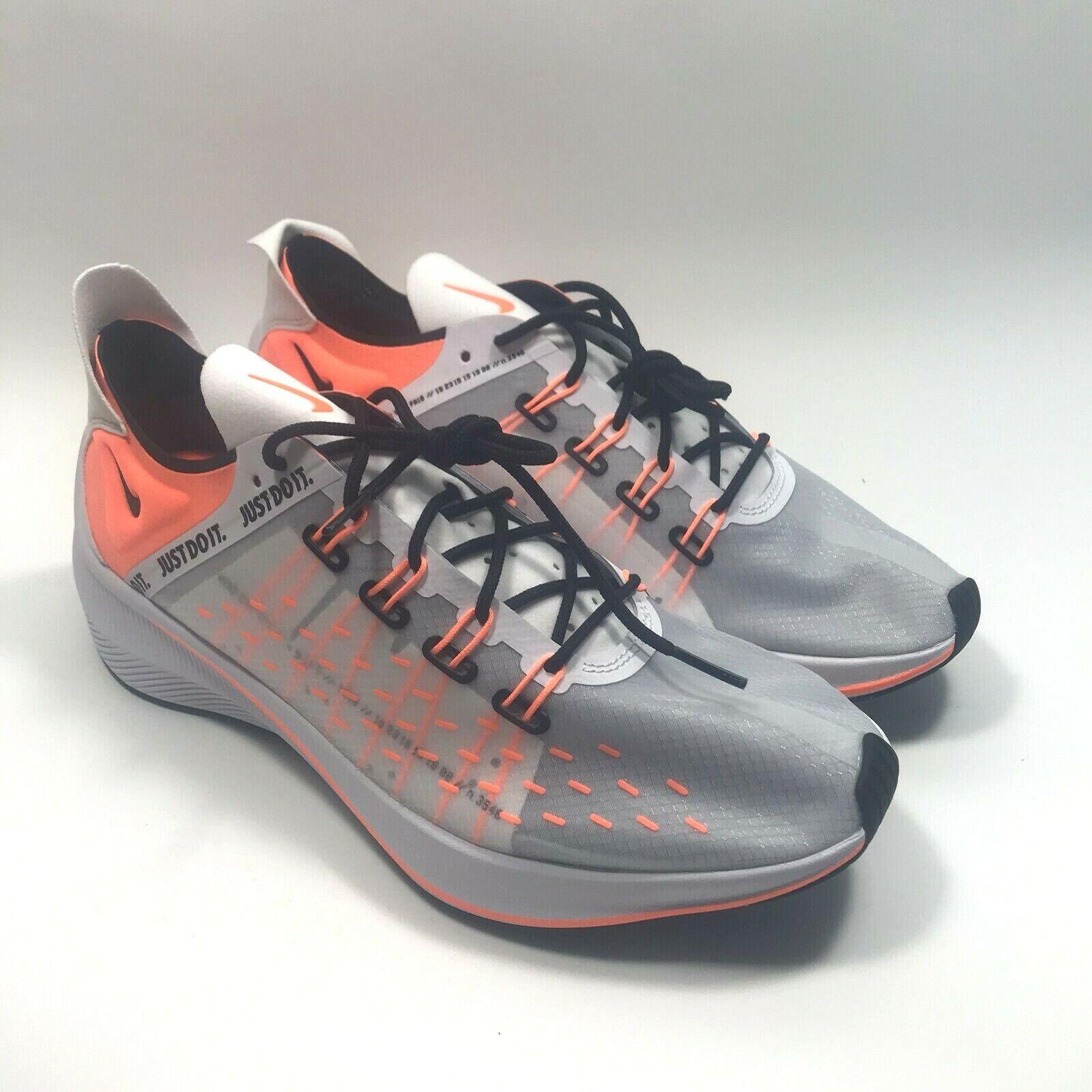 Nike EXP-X14 SE Just Do It White orange Black Running shoes AO3095-100 SZ 9-10.5
