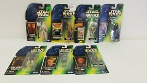 Star-Wars-Power-of-the-Force-Figures-C-3PO-Weequay-and-more-Lot-of-7-Kenner