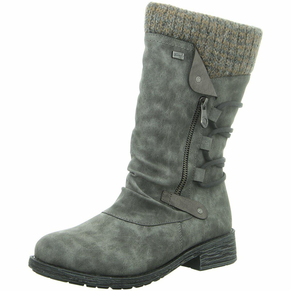 Remonte Damen Stiefel Stiefel D8070-45 grau 582961