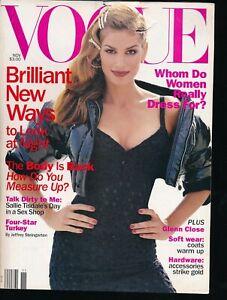 VOGUE-November-1994-Fashion-Magazine-CINDY-CRAWFORD-Cover-by-STEVEN-MEISEL-VF