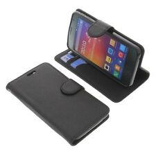 Bolso F. Phicomm energy M + smartphone Bookstyle cubierta protectora funda negro